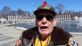 Arizona WWII vets share memories during Honor Flight