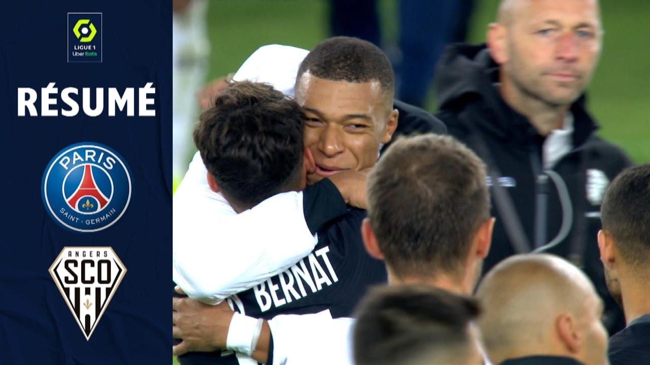 Download PARIS SAINT-GERMAIN - ANGERS SCO (2 - 1) - Résumé - (PSG - SCO) / 2021-2022