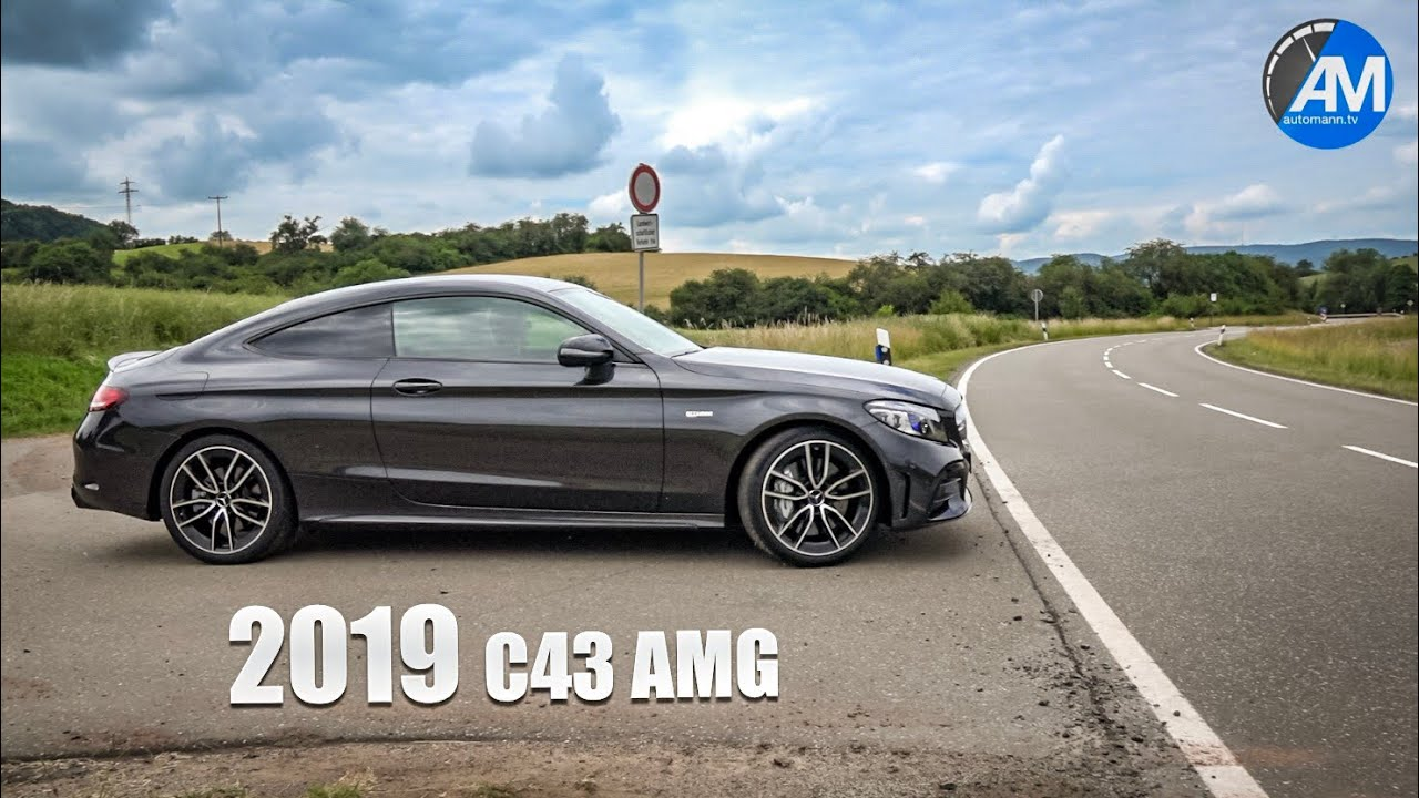 2019 Mercedes-AMG C43 (390hp) - DRIVE & SOUND!
