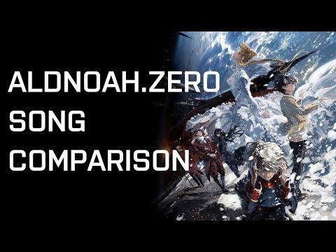 Aldnoah.Zero Song Comparisons