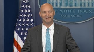 White House press briefing on potential government shutdown | ABC News