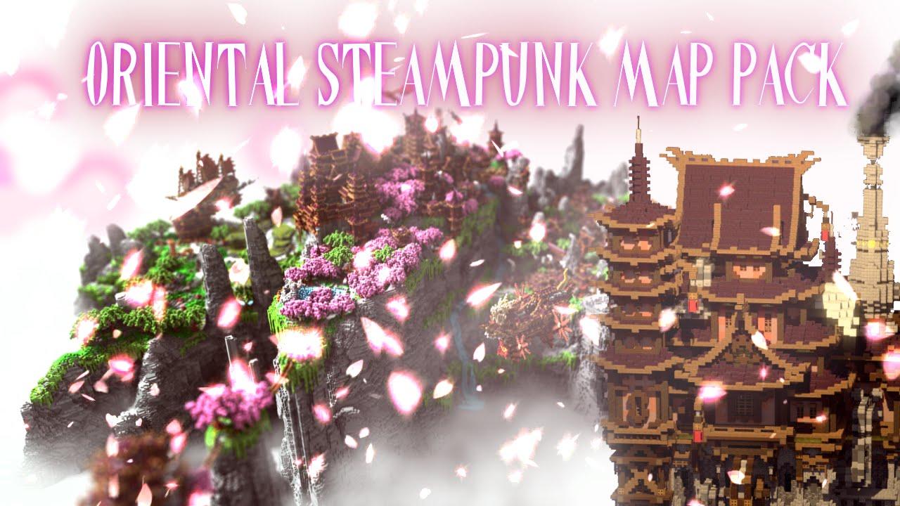 Oriental Steampunk Minecraft Map Pack Free Download