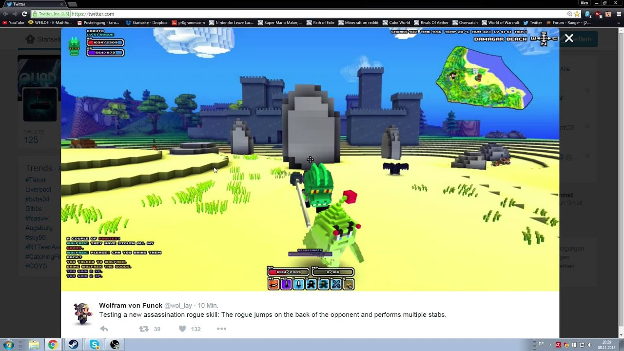 4 skill in cube world wollaytweeted rogue assasination youtube skill in cube world wollaytweeted rogue assasination gumiabroncs Choice Image