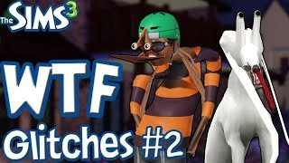 The Sims 3: Hilarious and Creepy Glitches! (PART 2)