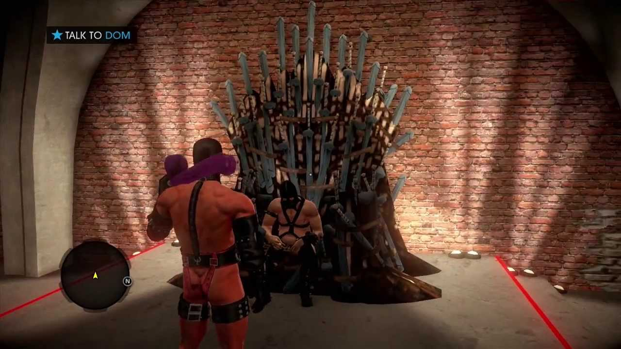 Saints Row 4 Game Of Thrones Spoof  Funny  YouTube