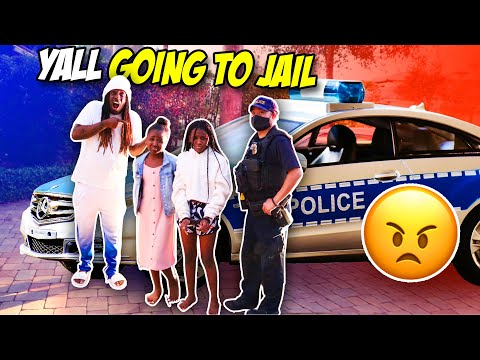 WE CAN'T BELIEVE YAYA AND KARISSA GOT ARRESTED (GOING TO JAIL)