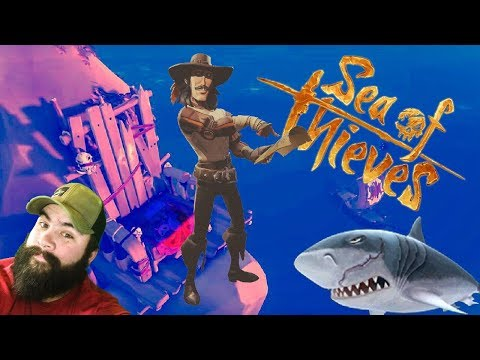 Search for booty and Megalodon 🔴 Live Sea of Thieves