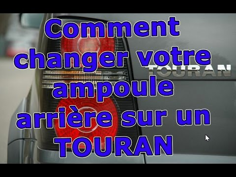 comment changer mon ampoule de phare arri re de touran volkswagen youtube. Black Bedroom Furniture Sets. Home Design Ideas