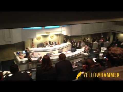 Senators Quinton Ross and Del Marsh Spar During Debate in Alabama Senate