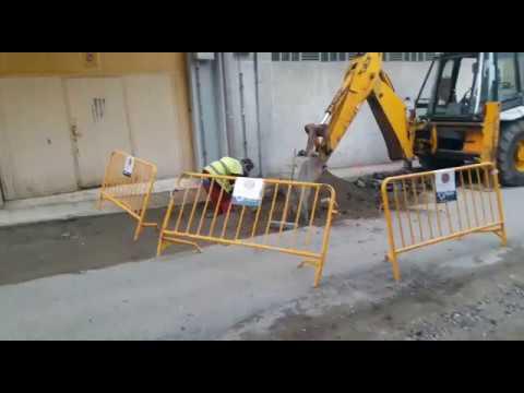 Escape de gas en la calle Benigno Esperón de Poio