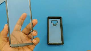Samsung Galaxy Note 9 Case - Built-in Screen, Protective Cover!