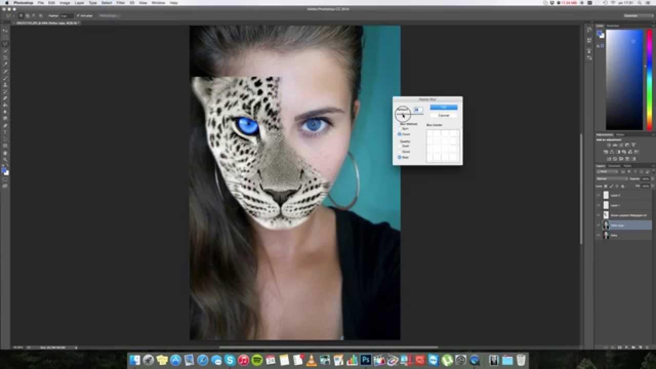 Photoshop Animal Human
