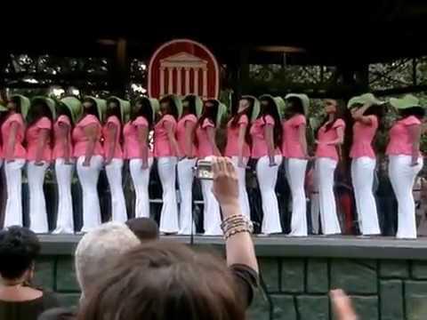 Theta Psi Chapter of Alpha Kappa Alpha Sorority Incorporated Spring '13 Probate