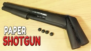 Video How To Make A Paper Shotgun That Shoots Bullets download MP3, 3GP, MP4, WEBM, AVI, FLV Agustus 2017