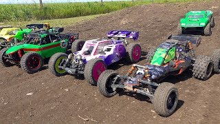 "2019 ""BiG DIRTY"" - 4WD & 2WD MiXED Buggy: Canadian Large Scale Offroad Race (PT 2) 