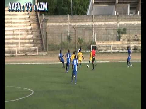 Match de football AAFA VS AZM-TOGO 1ère PERIODE