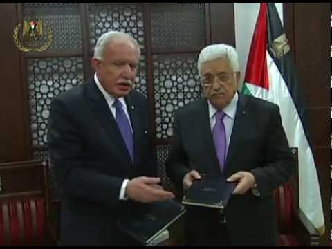 President Abbas Receives the Special Edition of the Rome Statute
