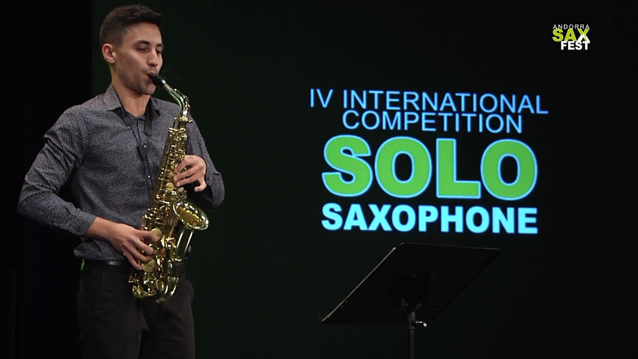FRANCISCO JESÚS RUSILLO - FIRST ROUND - IV ANDORRA INTERNATIONAL SAXOPHONE COMPETITION 2017