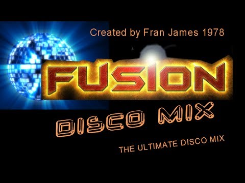 "DISCO MIX ""FUSION"" -.AWESOME!!!...(THE ULTIMATE DISCOMIX) 1978 ""RARE"""