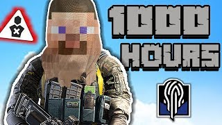 What 1000 HOURS of NOKK Experience Looks Like - Rainbow Six Siege