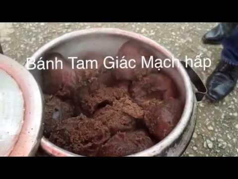 Bánh (Tam giác Mạch) của dân tộc vùng cao Hà Giang
