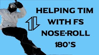 Tips for Anyone Struggling with FS Nose-Roll 180s