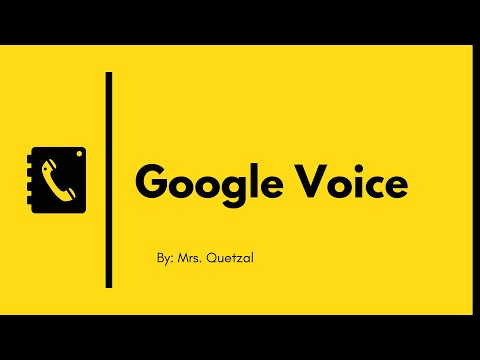 How To Set Up A Google Voice Number