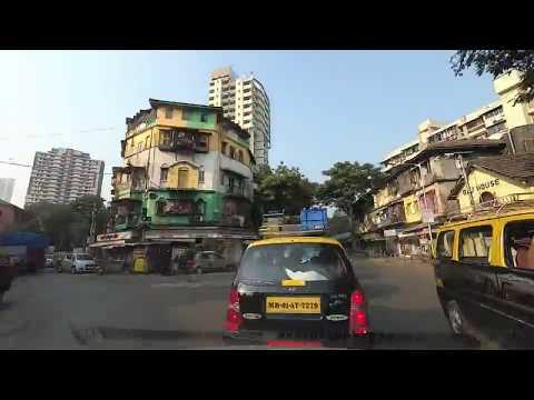 Road travel in Mumbai - Timelapse