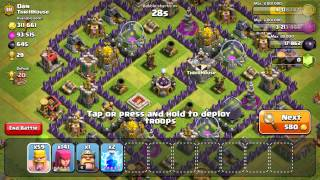 Clash of Clans Epic Barch Raids And Barch Tutorial
