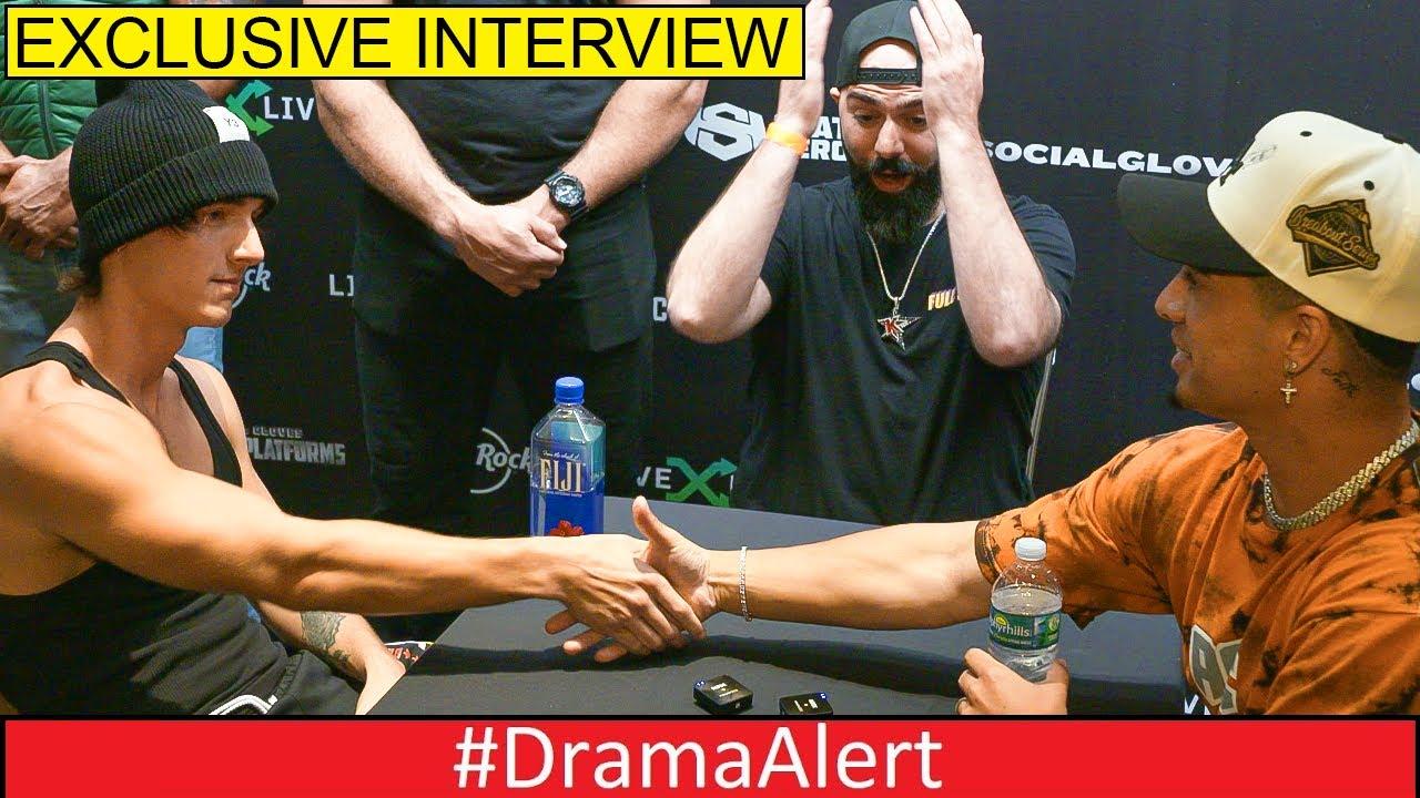Bryce Hall and Austin McBroom interview #DramaAlert EXCLUSIVE!