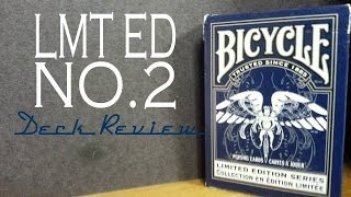 Limited Edition No.2 - Bicycle USPCC - Playing Cards Deck Review