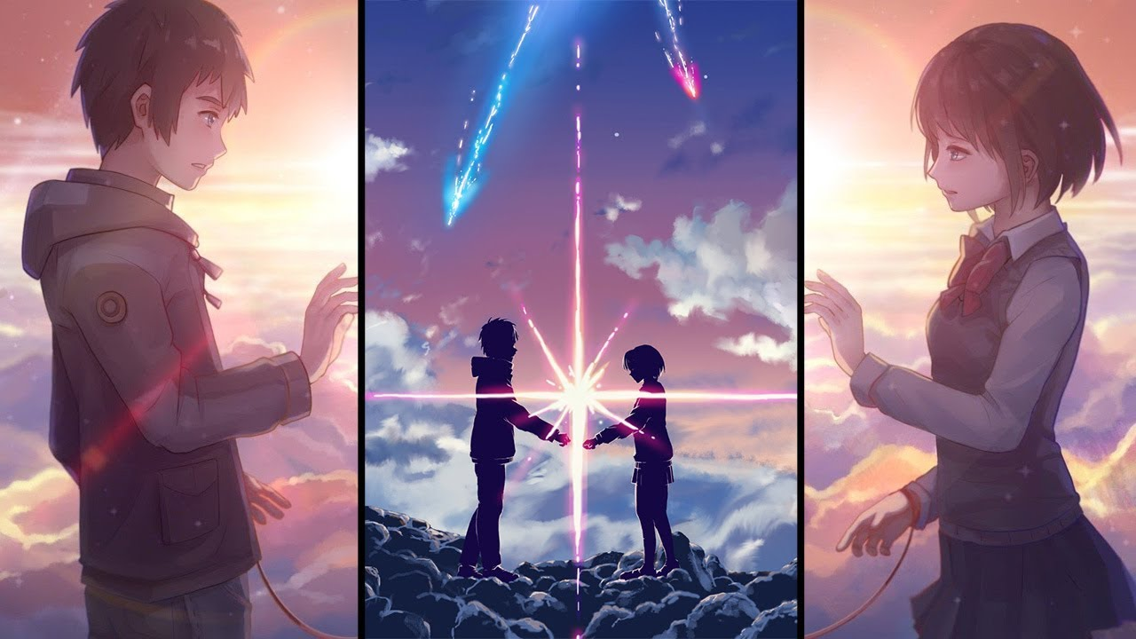 Your name kimi no na wa literally saving the anime industry