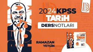 1) KPSS Tarih - İslamiyet Öncesi Türk Siyasi Tarihi - I - Ramazan YETGİN - 2022