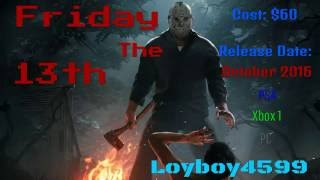 Friday The 13th Video Game Release date & Cost CONFIRMED