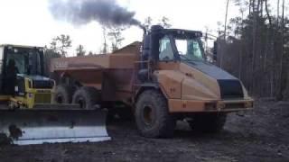 Todays Dump Truck Cold Start
