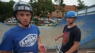 Купить BMX. Урок 3 - Как кататься в скейт-парке. Как сделать банни-хоп