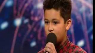 Persian Shaheen Jafargholi - 12 Year Old Singer - Britains Got Talent 2009 Ep 2