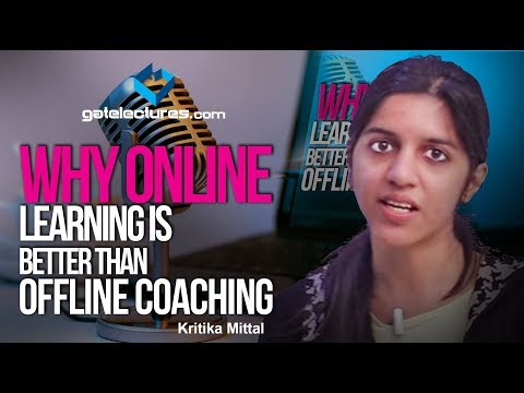 Why Online Learning Is Better Than Offline Coaching ? Online Learning Vs Offline Learning (Hindi)