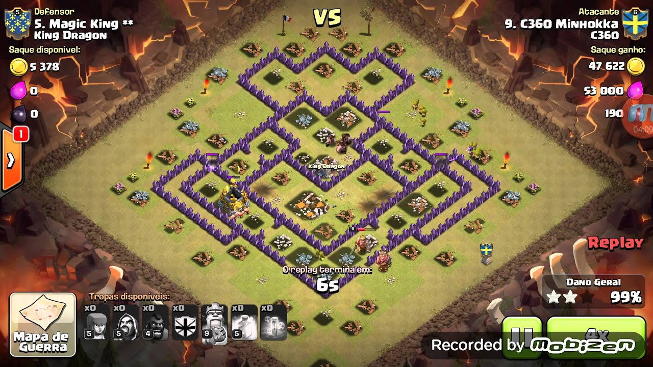 C360 x King Dragon - Clash of Clans - YouTube