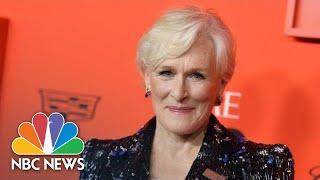Actress Glenn Close Calls For Normalizing Mental Health At Washington Event   NBC News