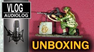 Żołnierzyki i inne prezenty w paczce od widza - unboxing