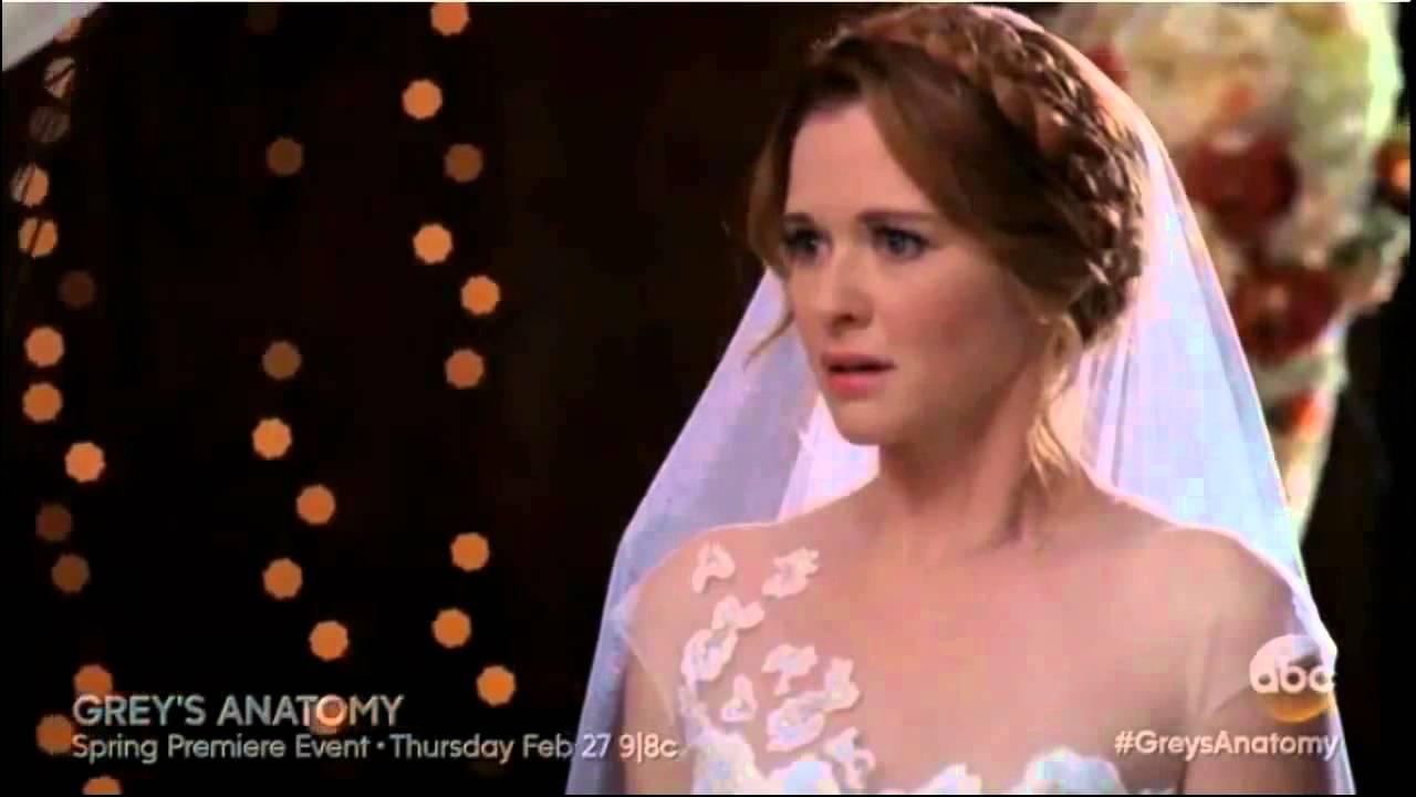 Jackson avery and april kepner wedding dress