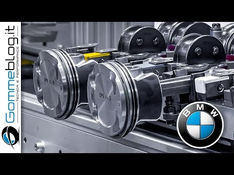 BMW Electric ENGINE - Car Factory PRODUCTION Assembly Line