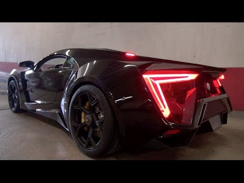 W Motors Lykan Hypersport Sound 3 5million Car