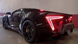 W-MOTORS LYKAN HYPERSPORT SOUND!! ($ 3,5Million Car!)