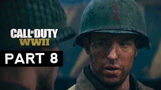 CALL OF DUTY WW2 #8 FULL HD 60FPS | No Comentado | Español | Gerardo Chávarry