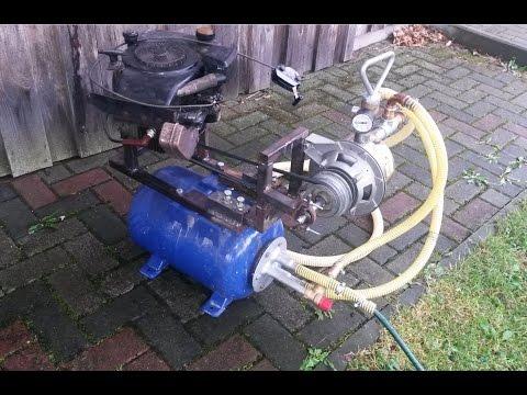 benzin wasserpumpe honda wb 10 aufbau und kaltstart 4 stroke water pump set up and cold start. Black Bedroom Furniture Sets. Home Design Ideas