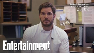 Chris Pratt explains 'Parks and Rec' in 30 seconds