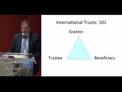 Offshore Wealth Summit: Part 1 - International Trusts by Att