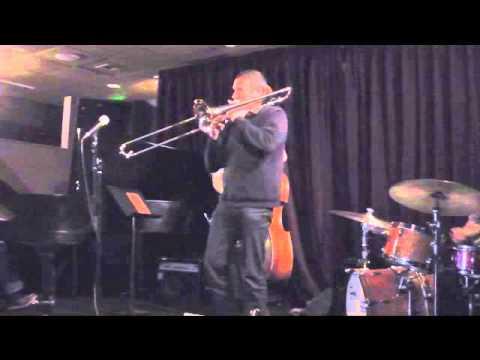 Trombone virtuoso, Phil Abraham, with Danny Kolke   4D / 8